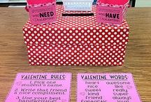 Valentine writing/activities / by Kelle Rowan