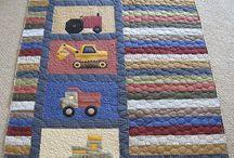 Q - baby boy quilts