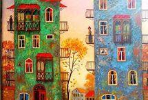 Городские рисунки