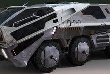 Concept Vehicles / Machines / Robots