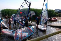 Obozy windsurfingowe / Obozy windsurfingowe w Dźwirzynie