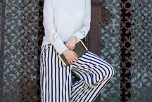 Striped clothing / Fashion photos, great outfits and a lot of striped clothes! Monoclu.ro looks and much more