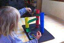 Para Marilu e Felpuda / Brinquedos educativos, caseiros, atividades