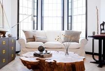 Living room ideas / by Amanda Grock