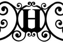 H...... / The letter H...my maiden last name..Hunt and how my name Henry.