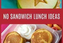 No Sandwich School Lunch Ideas for Kids