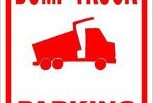 Cars & Trucks Signs