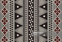 Fijian / Design inspiration around Polynesian imagery.