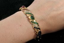 BRACELETS & BANGLES / A selection of beautiful bracelets and bangles, especially vintage and antique.