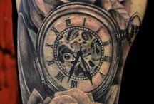 Clock tattoos