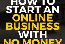 Online biz with no money