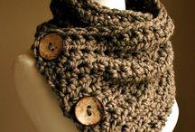 tricot écharpes, snood