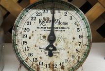 Vintage Kitchen Scale -kuchyńské váhy / ♥