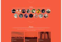 Flat design website / by Aslan Chen