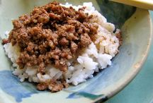 Taiwanese Minced Pork over Rice / by Becky Kim