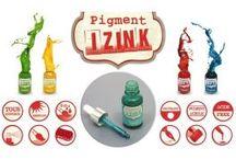Encre liguide Aladine / Izink s'adapte à tous supports, elle est couvrante, permanente, se dilue à l'eau ou à l'alcool, résiste aux UV, sans acide, elle se mélange pour créer de nouvelles nuances…. Izink, la nouvelle génération des encres créatives !