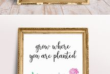 Printables / Who doesn't love free printables?