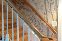 Escaliers et entrée home sert home !