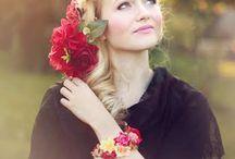 Kvetinové čelenky Sohemi art