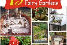 Fairy Garden for the Girls