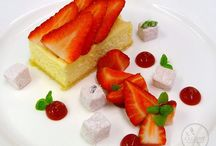 Sweet Treats / A selection of our desserts and sweet dishes for events and private catering.