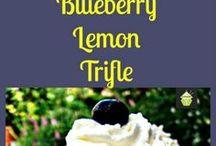 blueberry lemon triffle