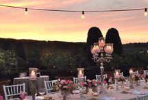 C&J Colorful Wedding in Tuscany / 30 Agosto 2014 Venue: Villa Gamberaia Floral Design: La Rosa Canina FIRENZE  Lighting: Alma Project Planning: Valentina Boyer / by La Rosa Canina FIRENZE