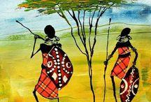 African paintings