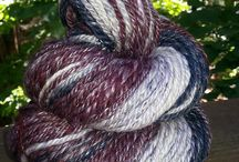 Eweaholics / My friend, Valerie, dyes and spins her own yarn. She is off-the-charts talented. These are some of her creations. Check out her etsy sight and her Facebook page. It's called eweaholics.  / by Rachael Taylor