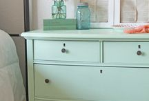 painted furniture / by Amy Coursey