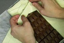 Strudel de chocolate