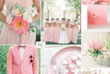 Rosa und Pink