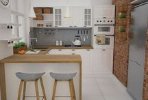 Malé kuchyne