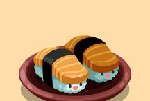Sushi/food and things