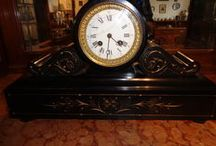 French marble antique clocks