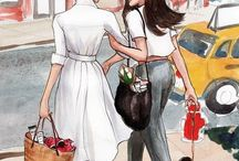 Illustration : Friend & Activity