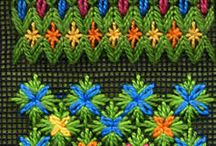 KENTIMATA / Bargello  needlepoint