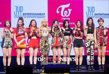 Twice on stage