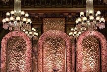 Wedding Decor ~ Backdrop / Where the bride and groom sits..the backdrop should be no less than an art.