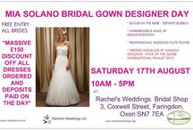 Rachel's Weddings / Rachel's Weddings are in Faringdon, Oxon and the team is managed by Rachel,  They stock Mia Solano, enVogue and Tara Lee