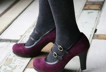Shoes / A pair of heels, flats, boots complete the look. Never compromise the footwear. / by Amy Pond
