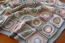 tığ işi battaniyeler