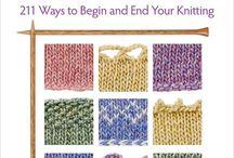 Knitting and crochet / by Angela Stahlecker Kruid