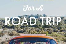 Road Trip / Ideas and tips for road trip adventures!  Need a road trip outfit or packing tips?  This is your spot!