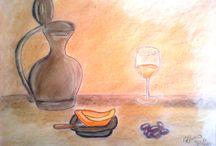 Pastel Painting / Pinturas em Pastel Seco e Lápis de Cor