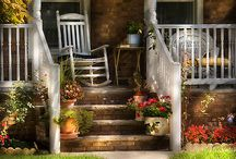 Flowerbed, yard and outdoors / by Judy Porter