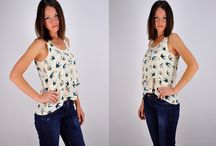 Tops and vests / Ladies Fashion