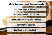 Ramadhaan/Eid Messages