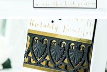 Spellbinders Art Deco Shells Duality Cards