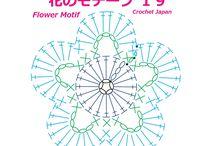 かぎ針編み モチーフ 花